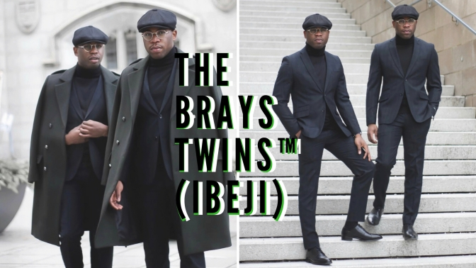 Global Style: Meet the #Nigerian 'Thrift Store Papi's' B.K.A The Brays Twins ™ (ibeji) of #Toronto #NCJLifestyles&Fashion