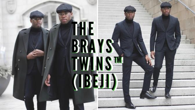 Global Style: Meet the #Nigerian 'Thrift Store Papi's' B.K.A The Brays Twins ™ (ibeji) of #Toronto #NCJLifestyles&Fashion