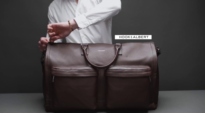 The #Leather @HookAndAlbert #Sartorial #Garment #Weekender #NCJLifestylesAndFashion